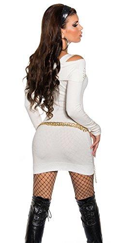 Sexy KouCla Longpullover mit Strass und Zip Koucla by In-Stylefashion SKU 0000ISF827806 - 5