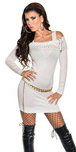 Sexy KouCla Longpullover mit Strass und Zip Koucla by In-Stylefashion SKU 0000ISF827806 - 6
