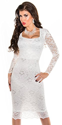 Sexy KouCla Midi-Kleid mit Spitze Koucla by In-Stylefashion SKU 0000K1840427 - 1
