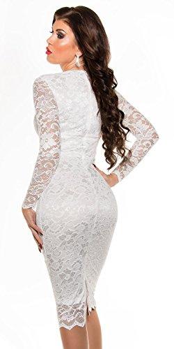 Sexy KouCla Midi-Kleid mit Spitze Koucla by In-Stylefashion SKU 0000K1840427 - 2