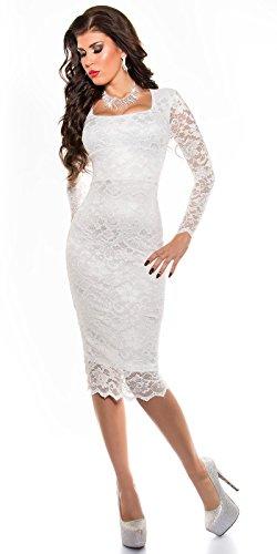 Sexy KouCla Midi-Kleid mit Spitze Koucla by In-Stylefashion SKU 0000K1840427 - 3