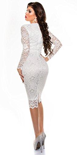 Sexy KouCla Midi-Kleid mit Spitze Koucla by In-Stylefashion SKU 0000K1840427 - 4