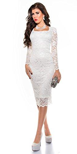 Sexy KouCla Midi-Kleid mit Spitze Koucla by In-Stylefashion SKU 0000K1840427 - 5