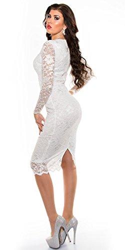Sexy KouCla Midi-Kleid mit Spitze Koucla by In-Stylefashion SKU 0000K1840427 - 6