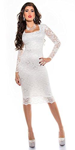 Sexy KouCla Midi-Kleid mit Spitze Koucla by In-Stylefashion SKU 0000K1840427 - 7