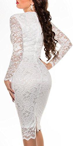 Sexy KouCla Midi-Kleid mit Spitze Koucla by In-Stylefashion SKU 0000K1840427 - 8