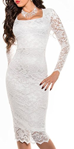 Sexy KouCla Midi-Kleid mit Spitze Koucla by In-Stylefashion SKU 0000K1840427 - 9