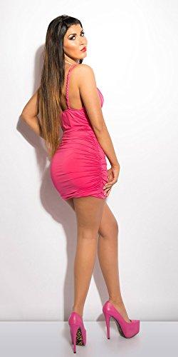 Sexy KouCla Minikleid gerafft mit Steinen Koucla by In-Stylefashion SKU 0000ISF894408 - 8