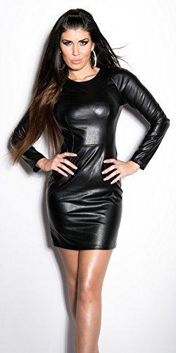 Sexy KouCla Minikleid im Lederlook Koucla by In-Stylefashion SKU 0000IN5033402 - 4