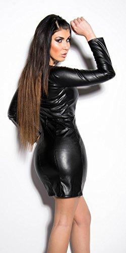 Sexy KouCla Minikleid im Lederlook Koucla by In-Stylefashion SKU 0000IN5033402 - 8
