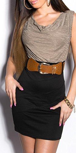 Sexy KouCla Minikleid Kurzarm mit Gürtel Koucla by In-Stylefashion SKU 0000K817102 - 6