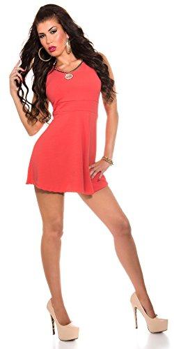 Sexy KouCla Minikleid mit abnehmbarer Kette Koucla by In-Stylefashion SKU 0000ISF519801 - 3