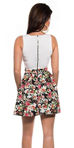 Sexy KouCla Minikleid mit Cut Outs + Blumenmuster Koucla by In-Stylefashion SKU 0000K184608 - 2