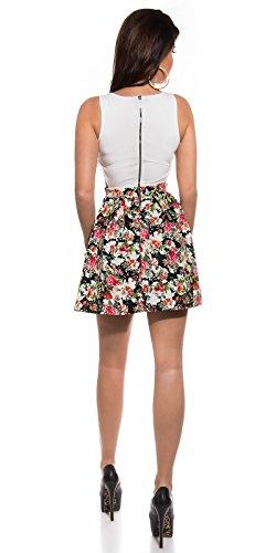 Sexy KouCla Minikleid mit Cut Outs + Blumenmuster Koucla by In-Stylefashion SKU 0000K184608 - 4