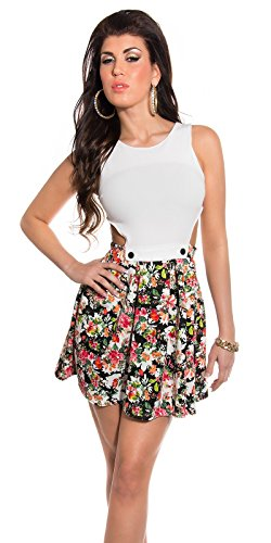 Sexy KouCla Minikleid mit Cut Outs + Blumenmuster Koucla by In-Stylefashion SKU 0000K184608 - 5