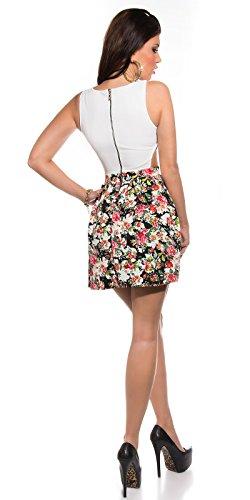 Sexy KouCla Minikleid mit Cut Outs + Blumenmuster Koucla by In-Stylefashion SKU 0000K184608 - 6