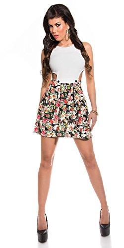 Sexy KouCla Minikleid mit Cut Outs + Blumenmuster Koucla by In-Stylefashion SKU 0000K184608 - 7