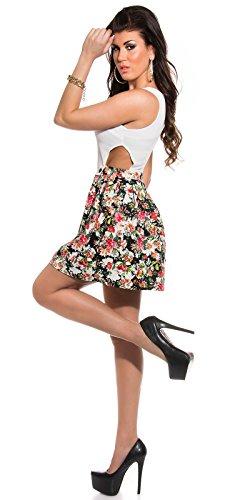 Sexy KouCla Minikleid mit Cut Outs + Blumenmuster Koucla by In-Stylefashion SKU 0000K184608 - 9