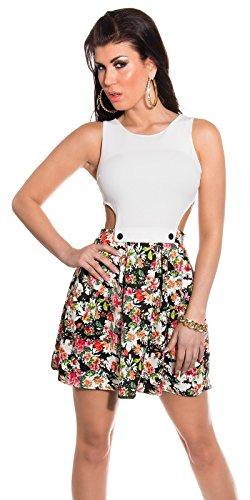 Sexy KouCla Minikleid mit Cut Outs + Blumenmuster Koucla by In-Stylefashion SKU 0000K184608 - 1