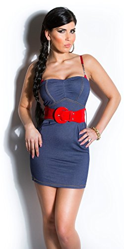 Sexy KouCla Minikleid mit Gürtel Koucla by In-Stylefashion SKU 0000ISFIN5000201 - 1