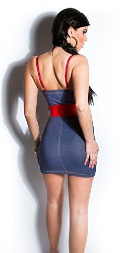 Sexy KouCla Minikleid mit Gürtel Koucla by In-Stylefashion SKU 0000ISFIN5000201 - 2