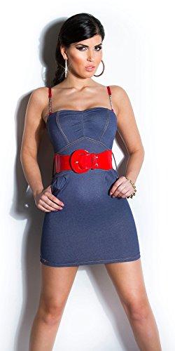 Sexy KouCla Minikleid mit Gürtel Koucla by In-Stylefashion SKU 0000ISFIN5000201 - 6