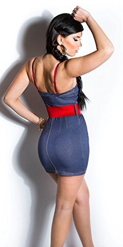 Sexy KouCla Minikleid mit Gürtel Koucla by In-Stylefashion SKU 0000ISFIN5000201 - 7