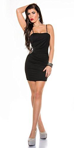 Sexy KouCla Minikleid mit Sexy Einblick und Strass Koucla by In-Stylefashion SKU 0000K329502 - 5