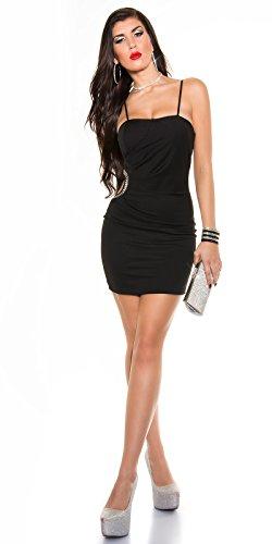 Sexy KouCla Minikleid mit Sexy Einblick und Strass Koucla by In-Stylefashion SKU 0000K329502 - 7
