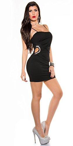 Sexy KouCla Minikleid mit Sexy Einblick und Strass Koucla by In-Stylefashion SKU 0000K329502 - 8