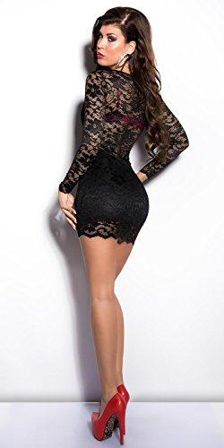 Sexy KouCla Minikleid mit Spitze Koucla by In-Stylefashion SKU 0000210011 - 4