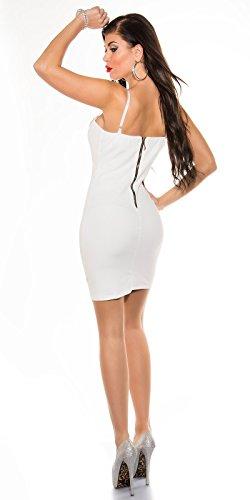 Sexy KouCla Minikleid mit Strass Dekolteé Koucla by In-Stylefashion SKU 0000K235604 - 3