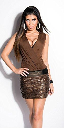 Sexy KouCla Minikleid transparent mit Leo-Print Koucla by In-Stylefashion SKU 0000K236501 - 5