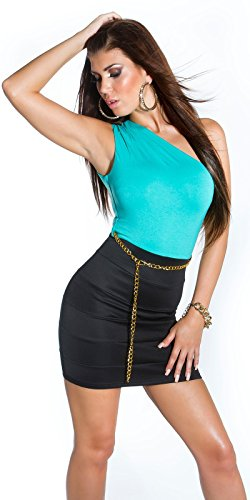 Sexy KouCla One-Shoulder Minikleid mit Gürtel Koucla by In-Stylefashion SKU 0000IN5023309 - 1