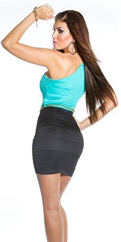 Sexy KouCla One-Shoulder Minikleid mit Gürtel Koucla by In-Stylefashion SKU 0000IN5023309 - 2