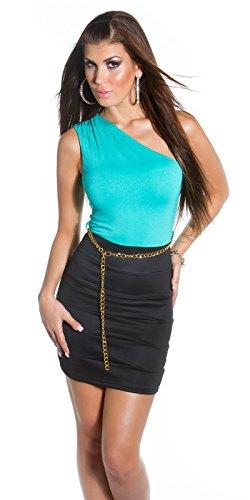 Sexy KouCla One-Shoulder Minikleid mit Gürtel Koucla by In-Stylefashion SKU 0000IN5023309 - 3