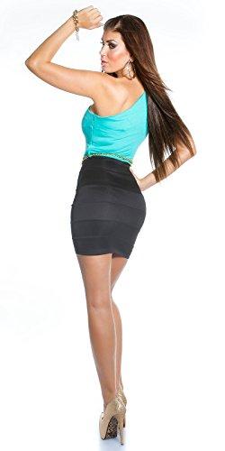 Sexy KouCla One-Shoulder Minikleid mit Gürtel Koucla by In-Stylefashion SKU 0000IN5023309 - 4