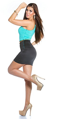 Sexy KouCla One-Shoulder Minikleid mit Gürtel Koucla by In-Stylefashion SKU 0000IN5023309 - 5