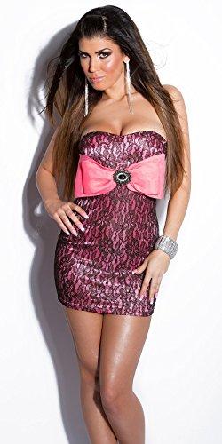 Sexy KouCla Partykleid m. Spitze u. XXL-Schleife Koucla by In-Stylefashion SKU 0000K9030111 - 1