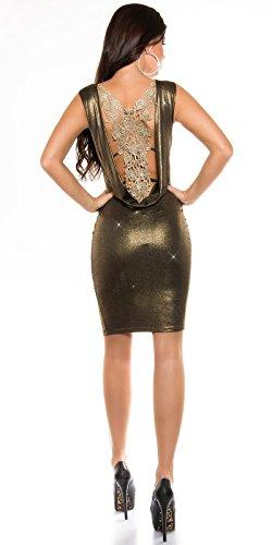 Sexy KouCla PartyKleid Rückenfrei mit Stickerei Koucla by In-Stylefashion SKU 0000K3319104 - 3