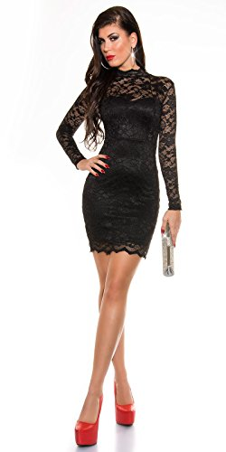 Sexy KouCla Spitzen Minikleid langarm Koucla by In-Stylefashion SKU 0000K1830913 - 3
