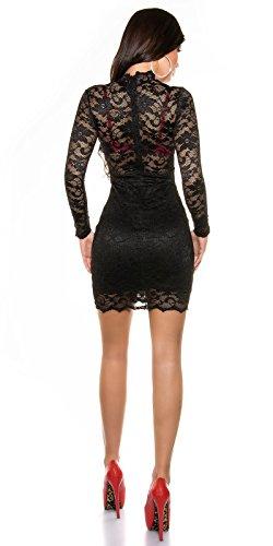 Sexy KouCla Spitzen Minikleid langarm Koucla by In-Stylefashion SKU 0000K1830913 - 4