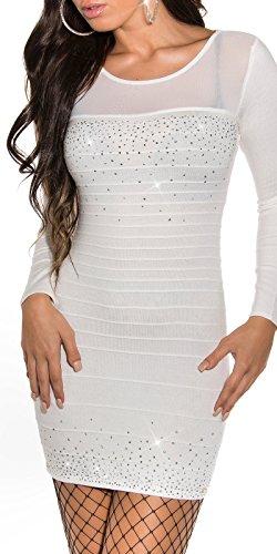 Sexy KouCla Strick-Minikleid mit Nieten Koucla by In-Stylefashion SKU 0000ISF824806 - 1