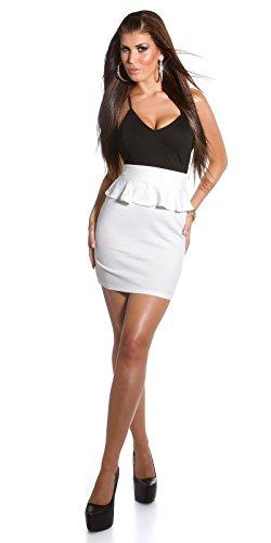 Sexy KouCla Träger Minikleid mit Schößchen Koucla by In-Stylefashion SKU 0000IN5019209 - 6