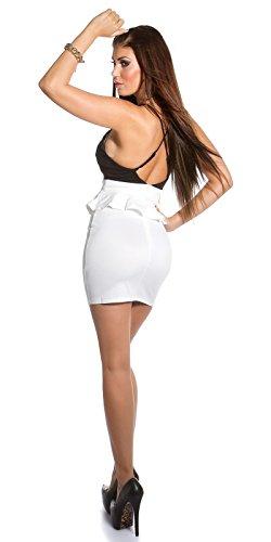 Sexy KouCla Träger Minikleid mit Schößchen Koucla by In-Stylefashion SKU 0000IN5019209 - 8
