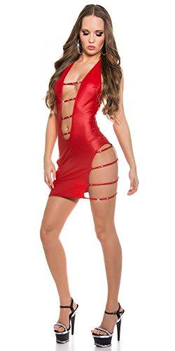 Sexy KouCla wetlook GoGo-Kleid mit sexy Einblicke Koucla by In-Stylefashion SKU 0000K1836001 - 3