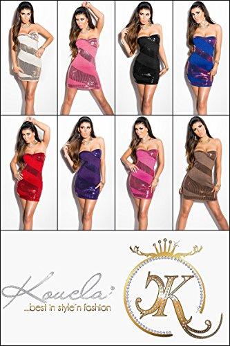 Sexy Lurex-Feinstrickminikleid mit Pailletten Koucla by In-Stylefashion SKU 0000ISF891008 - 7