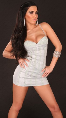Sexy Minidress with lace-cups, backless Koucla by In-Stylefashion SKU 0000K8027403 - 2