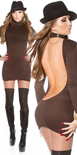 Sexy Minikleid mit Rollkragen rückenfrei!! Koucla by In-Stylefashion SKU 0000MKRF102 -