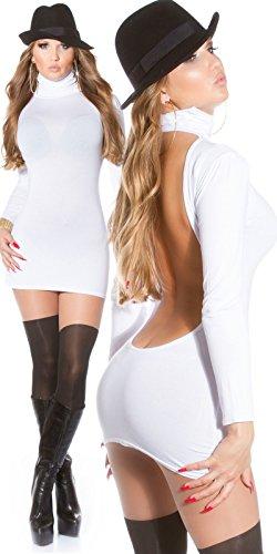 Sexy Minikleid mit Rollkragen rückenfrei!! Koucla by In-Stylefashion SKU 0000MKRF104 - 1